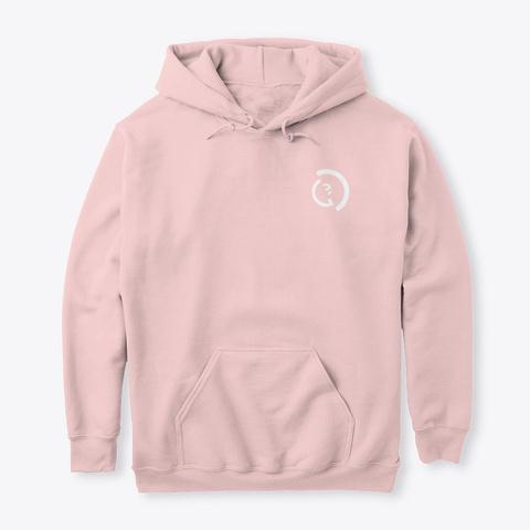 Official Ego Merch   First Drop Light Pink T-Shirt Front