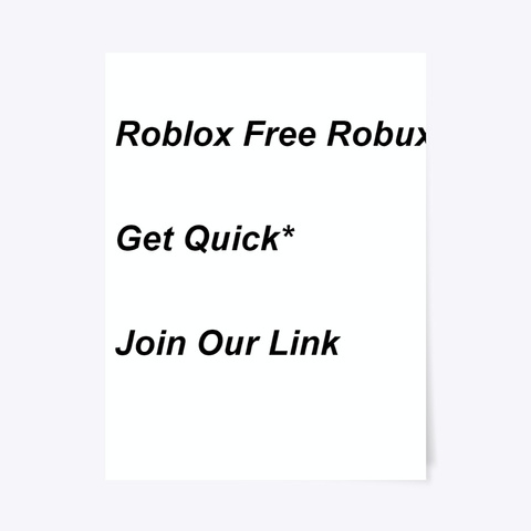 ¶¶ Secure  Roblox Free Robux Generator Standard T-Shirt Front