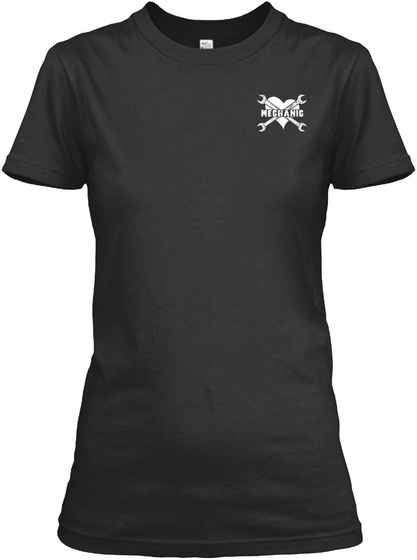 Mechanic Black T-Shirt Front