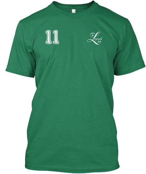 11 Legends 84. Kelly T-Shirt Front
