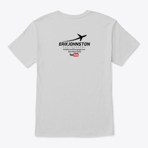 Erik Johnston Photography Light Steel T-Shirt Back