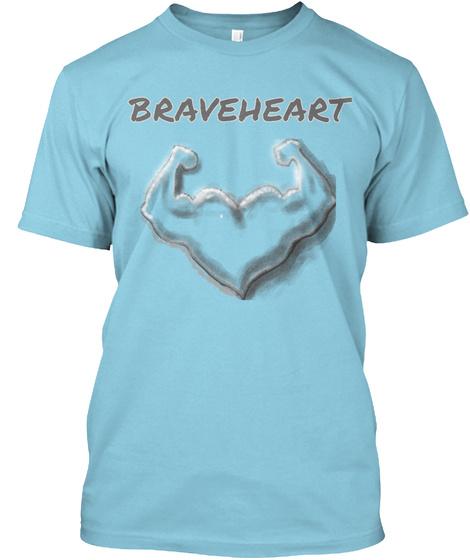 Braveheart Light Blue T-Shirt Front