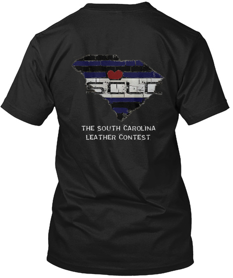 Sclo Sclc The South Carolina Leather Contest Black T-Shirt Back