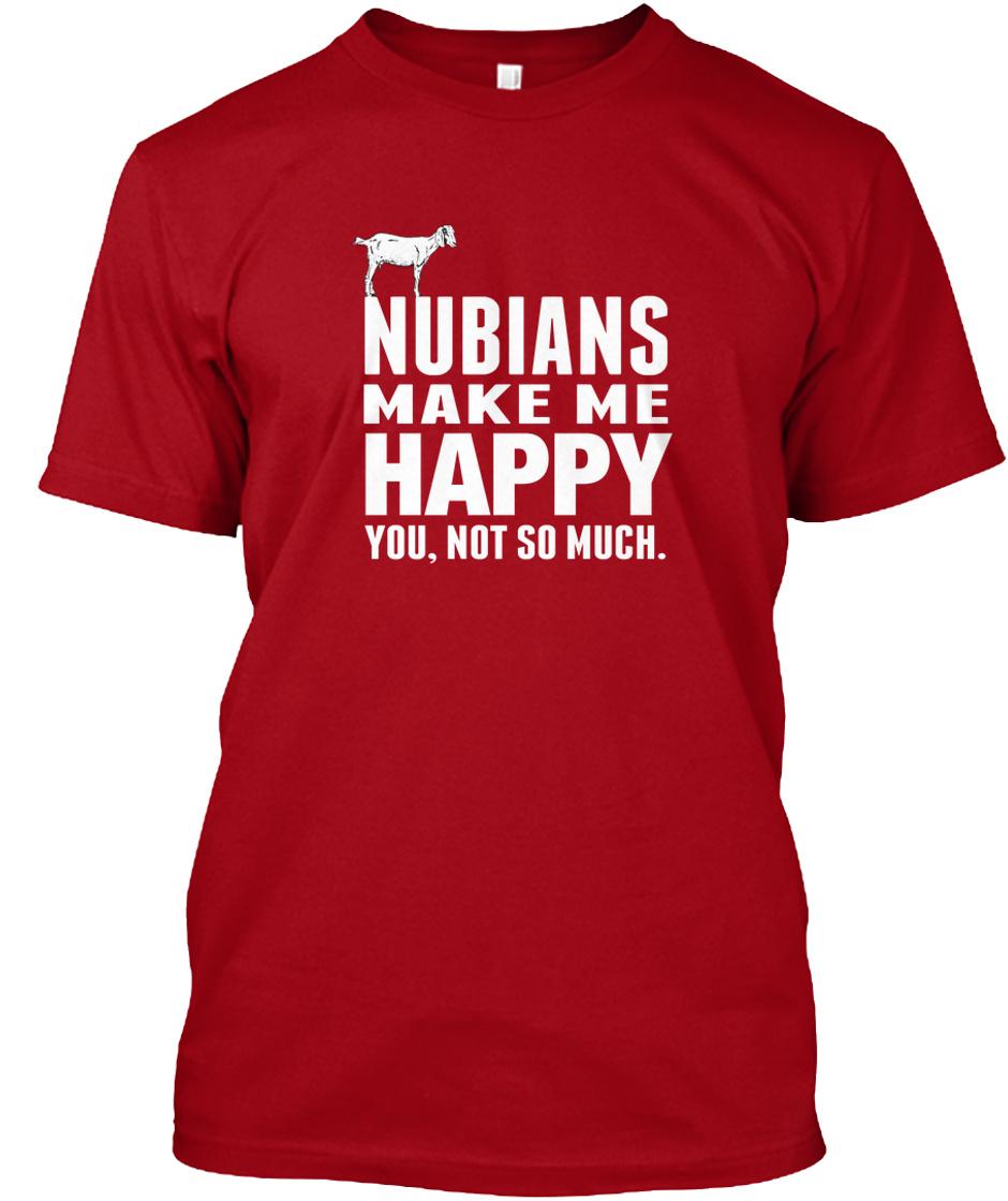 Nubian Goat Gifts Nubians Make Me Happy