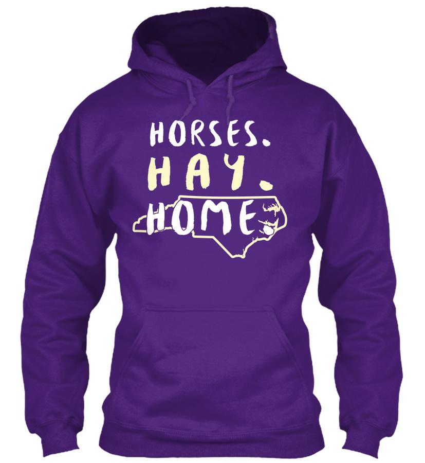 127 - North Carolina Horseback Riding Unisex Tshirt