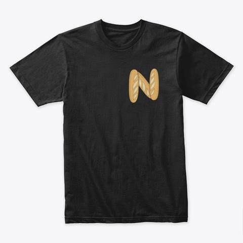 Basic Breadstick  Black T-Shirt Front