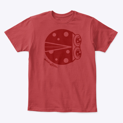 Kg Ladybug Classic Red T-Shirt Front