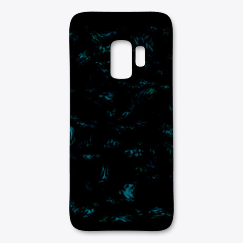 """Midnight"" I Phone Case Black T-Shirt Front"