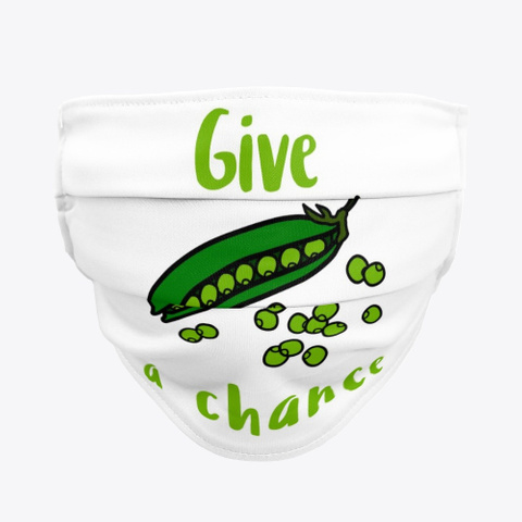 Give Peas A Chance Standard T-Shirt Front