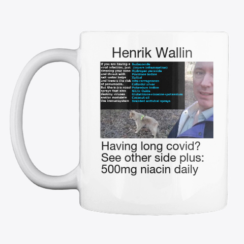 The Antiviral Henrik Wallin White Kaos Front