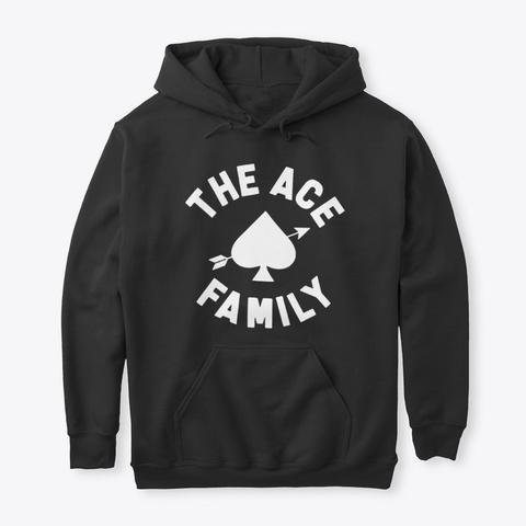 Ace Family Merch T Shirt Hoodie Black T-Shirt Front
