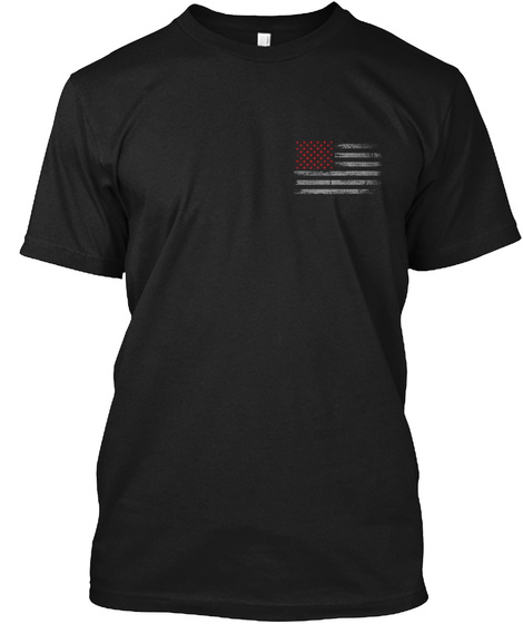 Not On My Watch Black T-Shirt Front