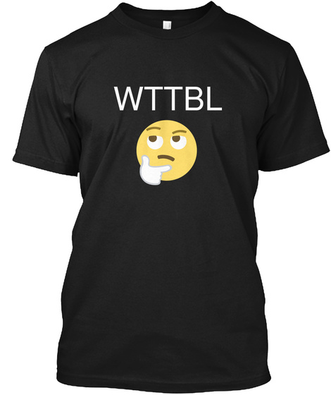 Wttbl Black T-Shirt Front