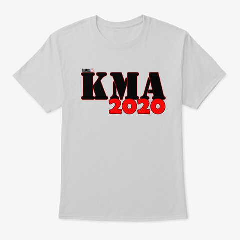 Kma 2020   Limited Edition Tee Light Steel T-Shirt Front
