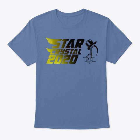 Star Crystal 2020 Denim Blue T-Shirt Front