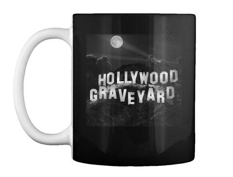 Hollywood Graveyard Black T-Shirt Front