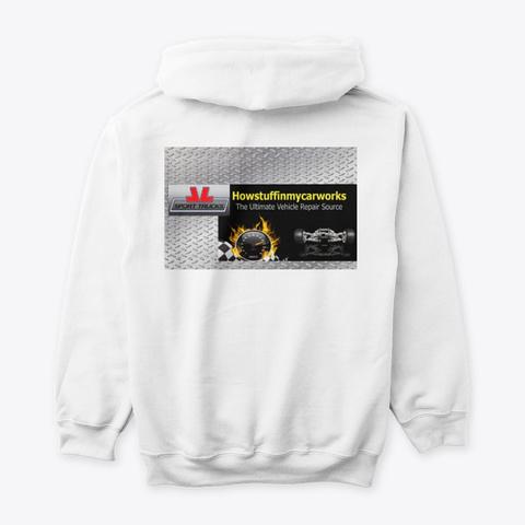 Howstuffinmycarworks Memorabilia White T-Shirt Back
