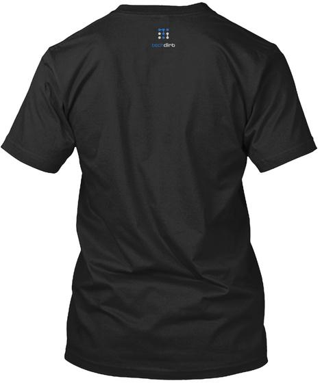 Tech Dirt Black T-Shirt Back
