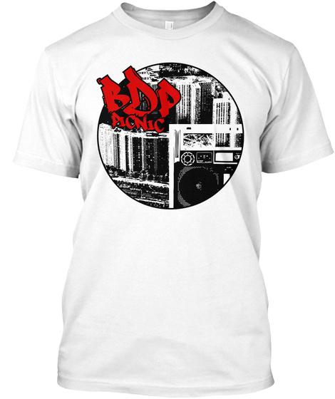 Bdp Picnic White T-Shirt Front