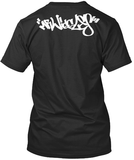 Mpwiggles Black T-Shirt Back