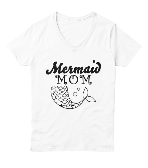 2e2371fa Mermaid Mom Mother's Day Gift Products from Teespring Exclusives T ...