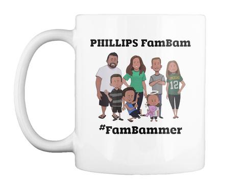 Phillips Fambam #Fambammer White Camiseta Front
