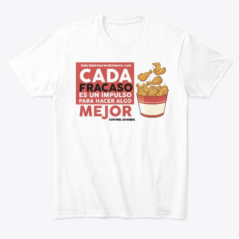 Chicken Sanders White T-Shirt Front