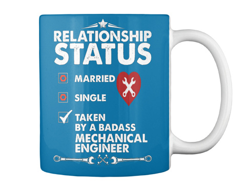 Relationship Status Taken By A Badass BIKER T-shirt Tee Tshirt Cool Funny Gift