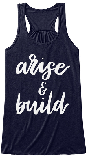 Arise And Build Midnight Women's Tank Top Front