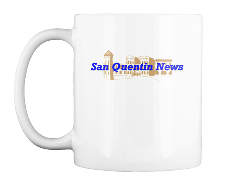 San Quentin News White T-Shirt Front