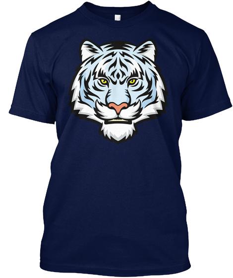 Best Tiger Shirt Mens Navy T-Shirt Front