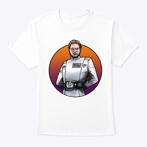 Ahnald T101 White T-Shirt Front