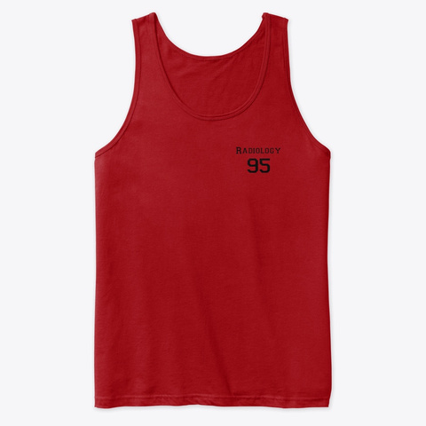 Radiology 95 Red T-Shirt Front