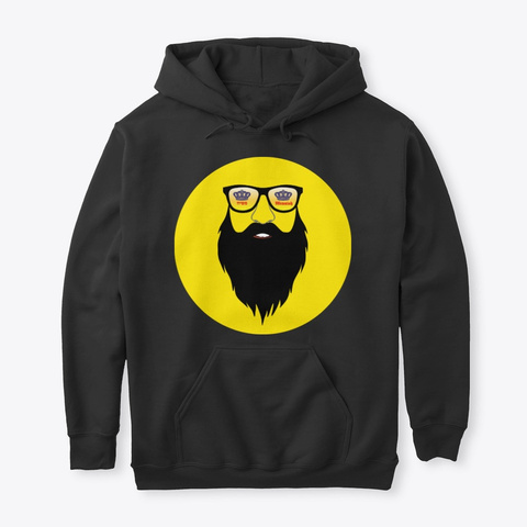 Moshiach Hoodie Black T-Shirt Front