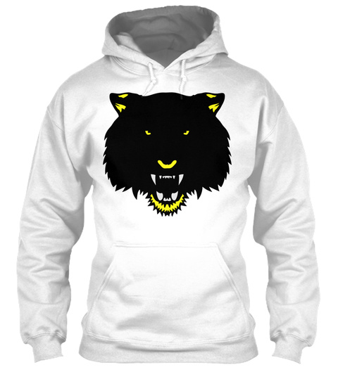Tiger Wild Animal Cartoon Face 3 5 White T-Shirt Front