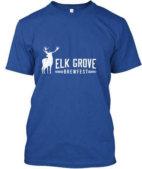 Egbf Tee Shirts And Hoodies Deep Royal T-Shirt Front