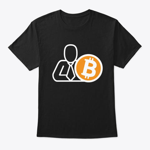 Bitcoineado Articulos Black T-Shirt Front