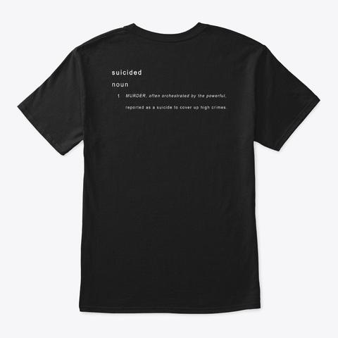 High Crimes Cover Up Black T-Shirt Back