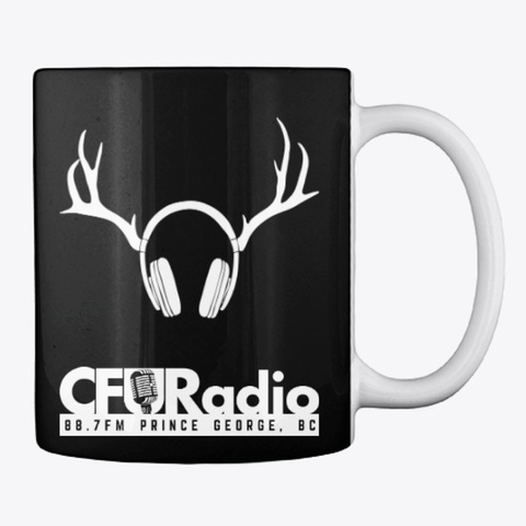 Cfur Mug Classic   Black Black T-Shirt Back