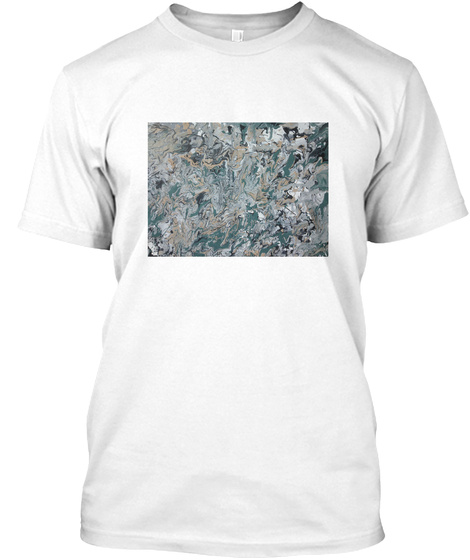Marble River White T-Shirt Front
