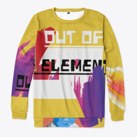Out Of Element Yellow T-Shirt Front