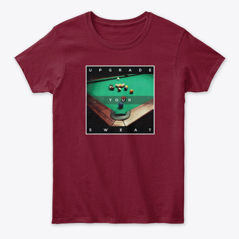 Pov Pool: Upgrade Your Sweat Cardinal Red T-Shirt Front