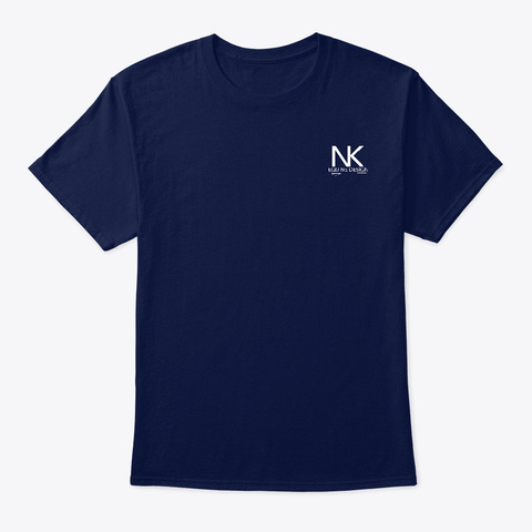 Ambition Navy T-Shirt Front