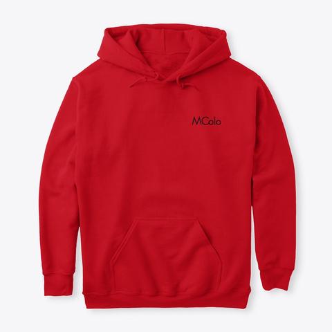 """Classique""   M Colo Red T-Shirt Front"