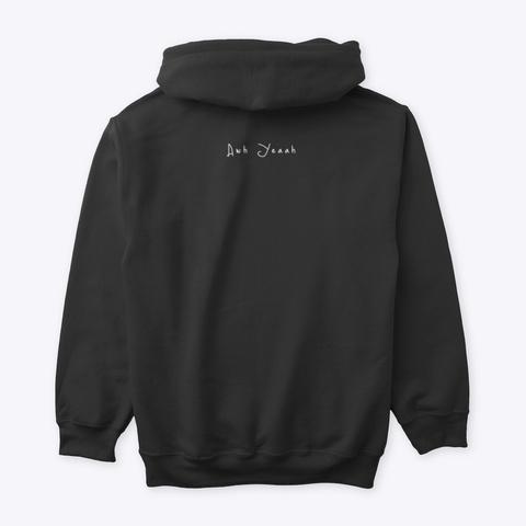 True Mob Hoodie Black T-Shirt Back