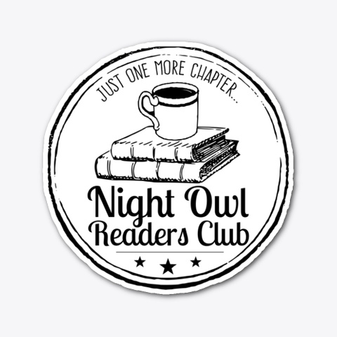 Late Night Readers Club Standard T-Shirt Front