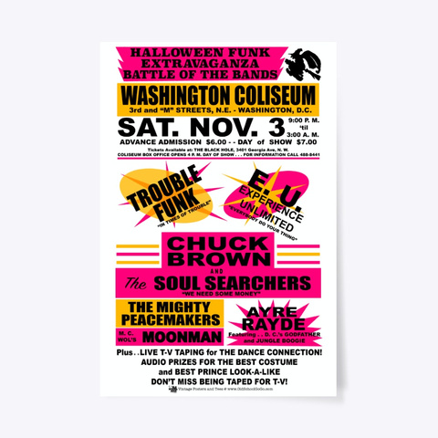 Battle Of The Bands   Coliseum   Poster Standard T-Shirt Front