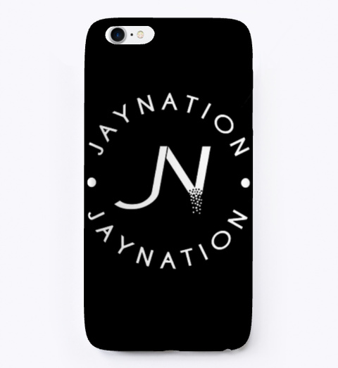 Jn Iphone Case Black T-Shirt Front