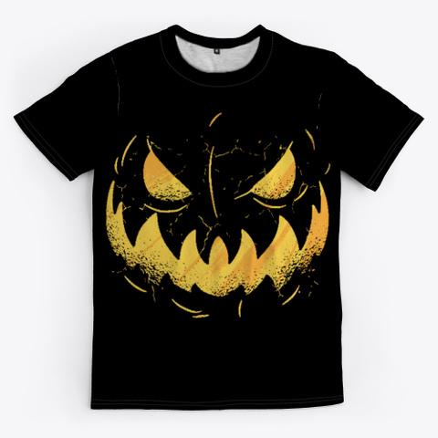 Jack O'lantern 🎃 Black Camiseta Front
