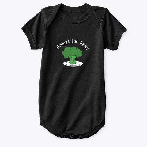 Eat Your Veggies! Black T-Shirt Front